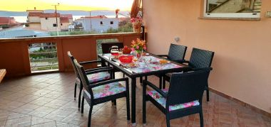 Apartmány Julija - big terrace and grill A1 Asy(4) Bibinje - Riviéra Zadar